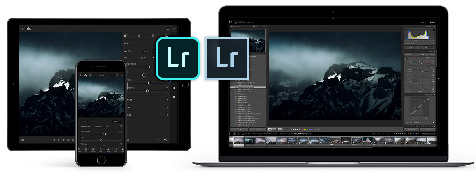 What is the difference between Lightroom and Lightroom Classic?