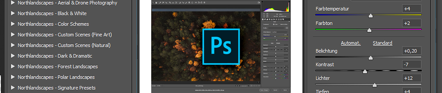 How to Install and Use Camera RAW Presets in Photoshop