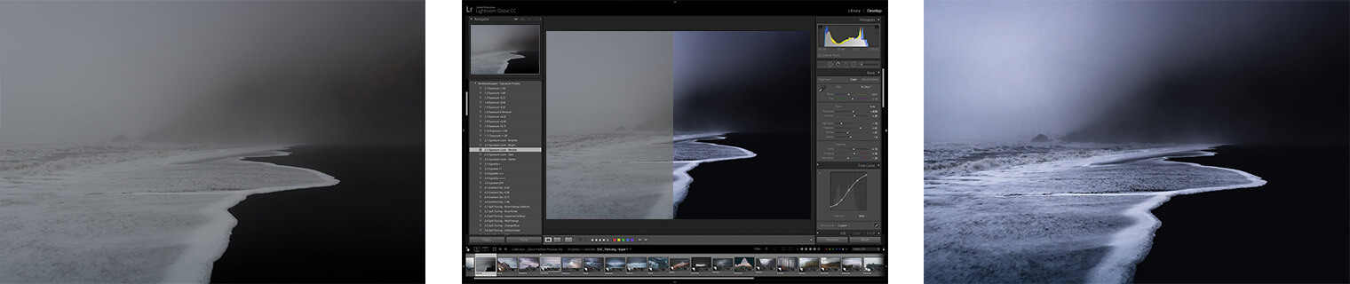 Lightroom Classic editing workflow