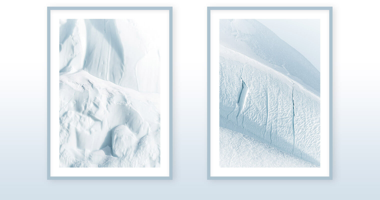 Fine Art Prints of Icebergs in Greenland