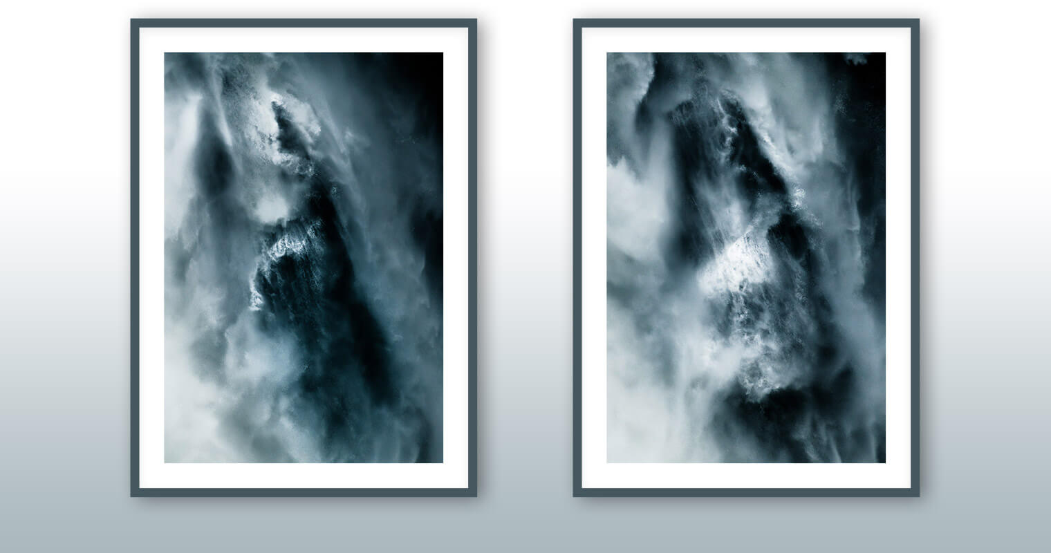 Abstract Fine Art Prints of Waterfall