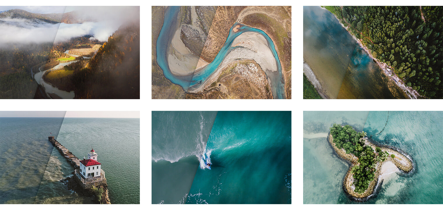 Premium Lightroom Presets for Aerial & Drone Photography