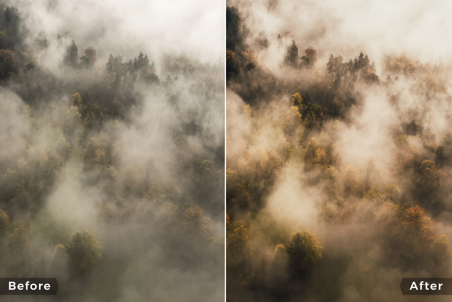 Premium Lightroom Presets for Drone & Aerial Landscape Photography