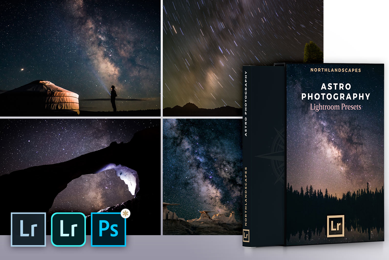 FREE Lightroom Presets for Astro Photography (Desktop & Mobile DNG Presets)