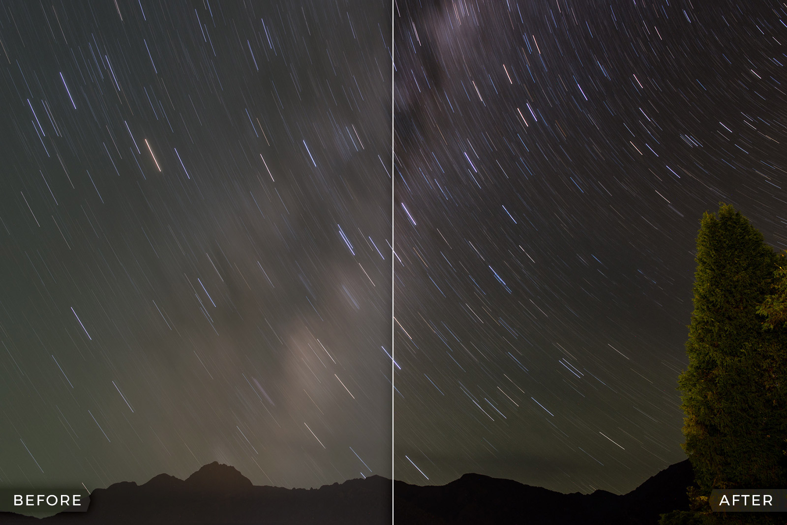 FREE Astrophotography Lightroom Presets (Star Trails and Milky Way)