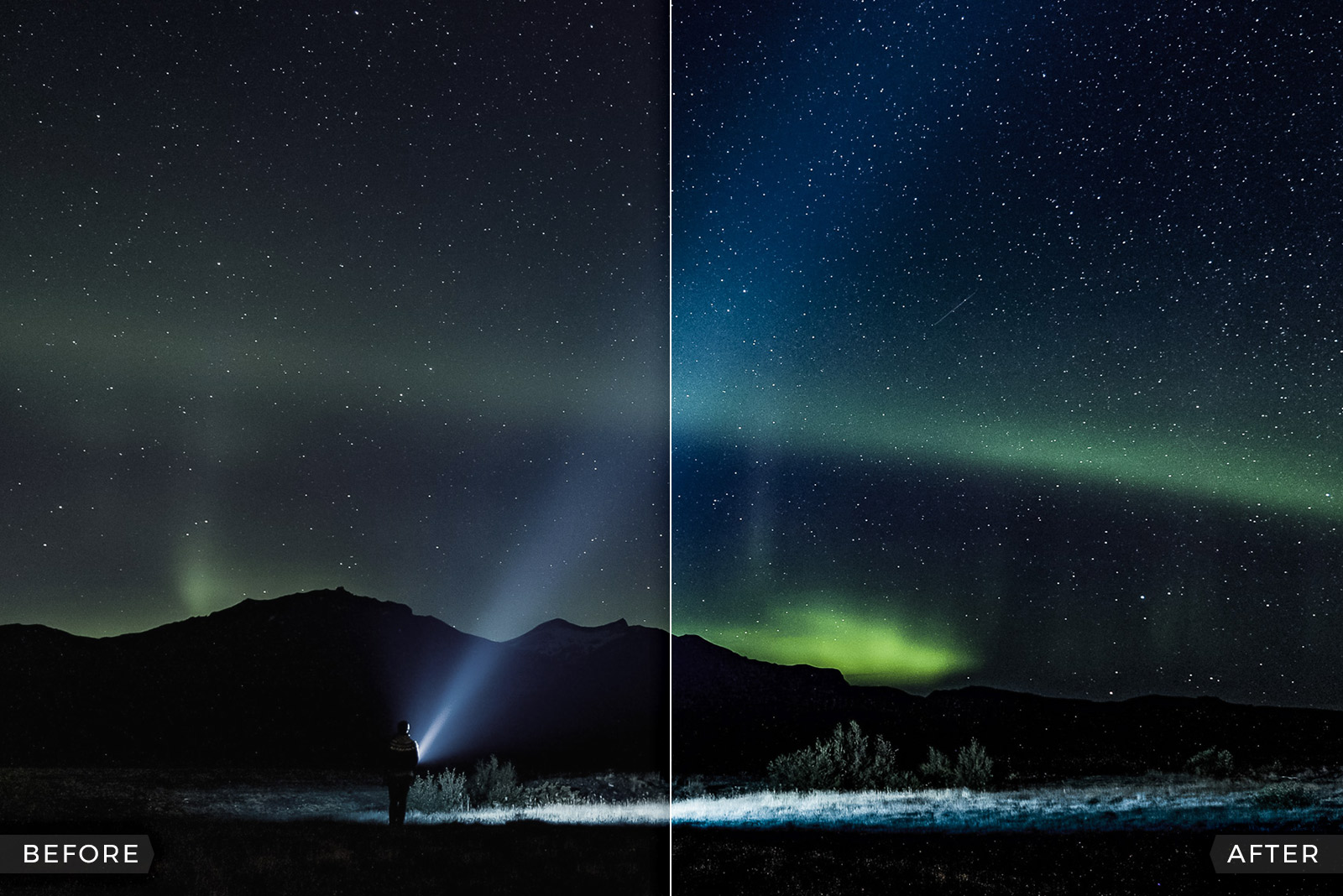 FREE Northern Lights (Aurora Borealis) Lightroom Presets