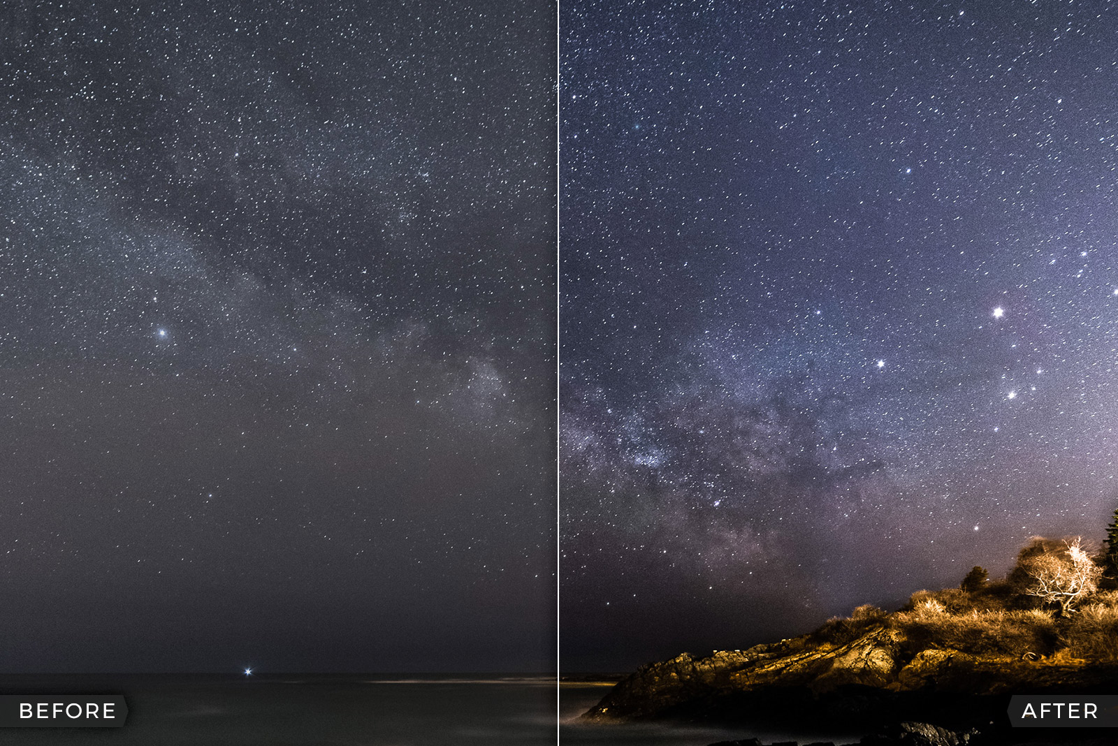 FREE Night Sky Lightroom Presets (Milky Way, Stars and Northern Lights)