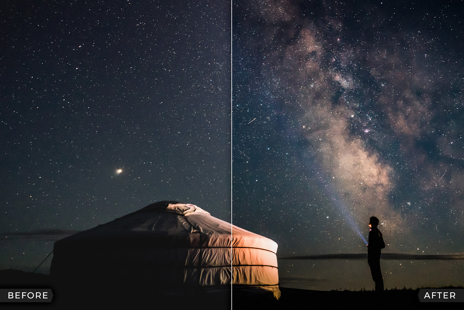 10 Lightroom Presets for Astrophotography & Northern Lights (FREE Download)