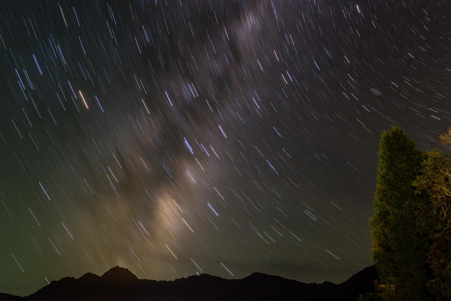 Lightroom Presets for Star Trails Night Photography