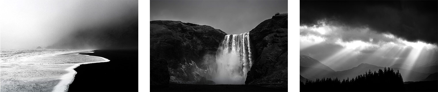 Black & White Lightroom Presets for Landscape & Travel Photography