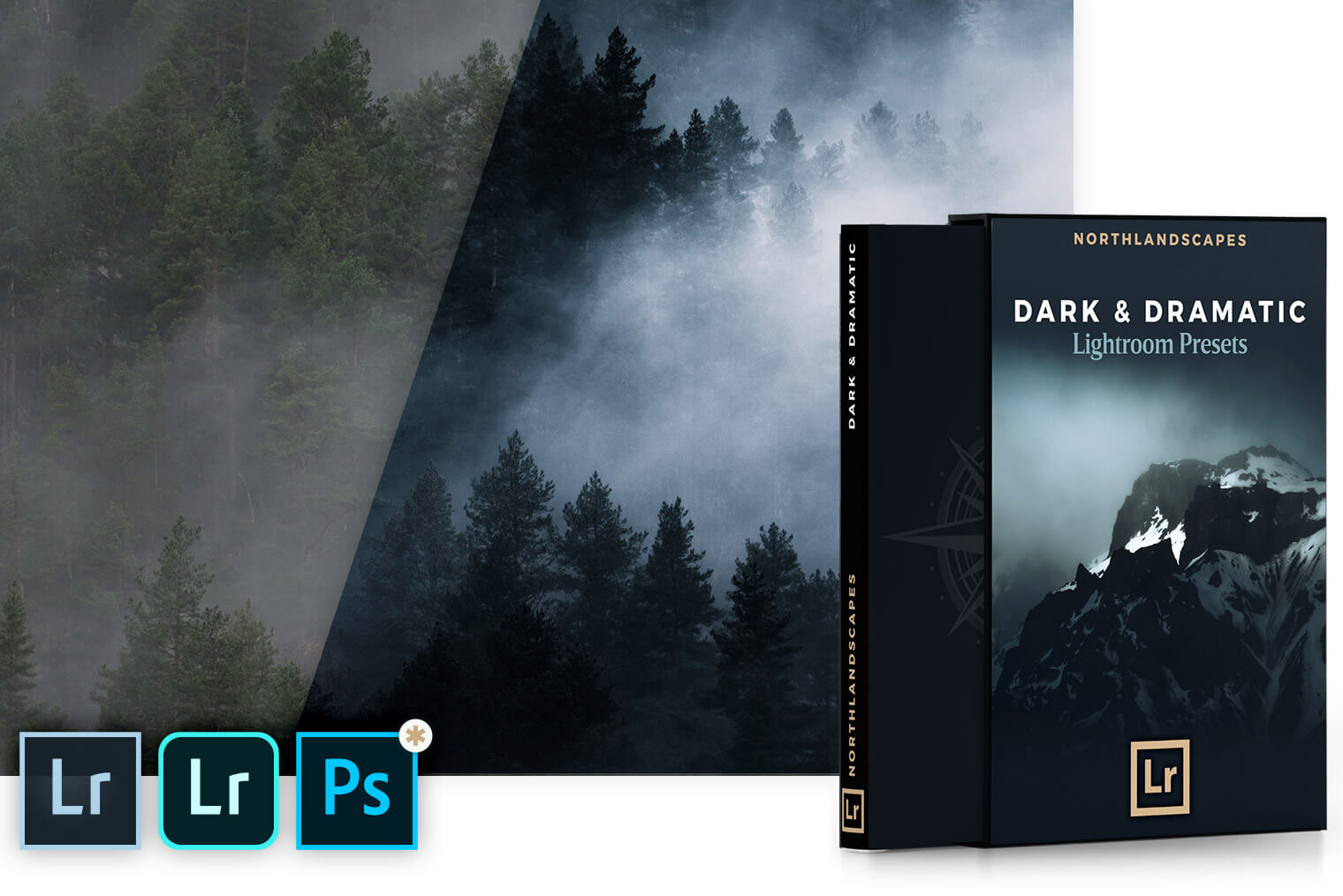Dark and Dramatic Lightroom Presets for Fine Art Landscape Photography