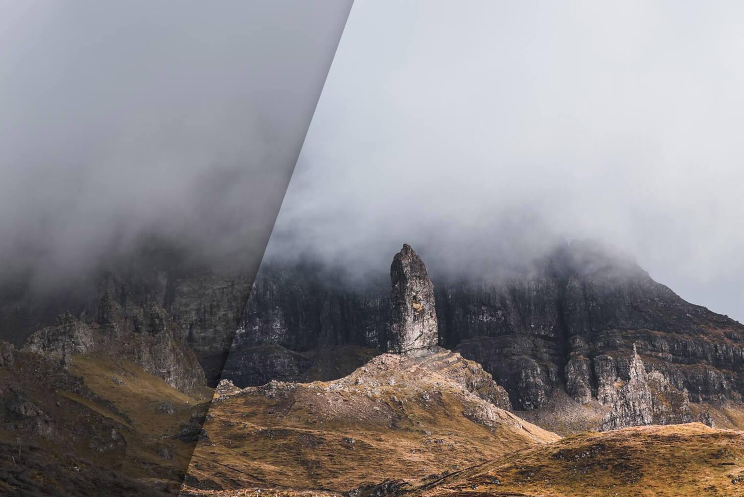 Presets de Lightroom gratis para paisajes oscuros y caprichosos