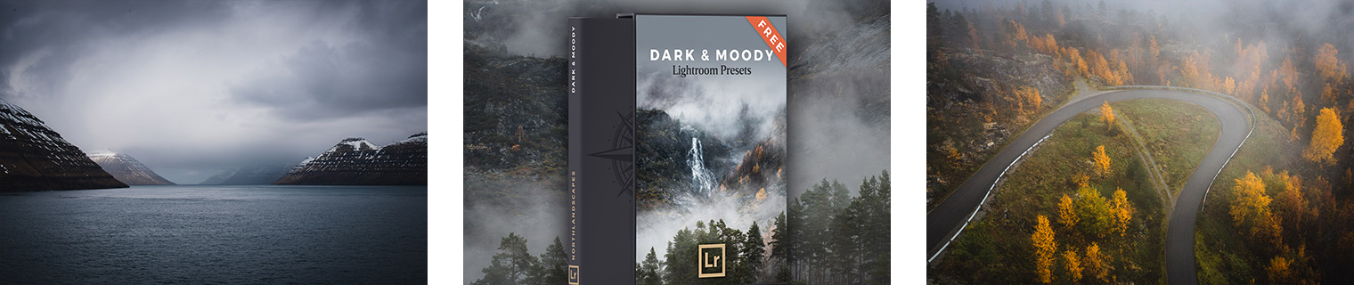 FREE Lightroom Presets - Dark and Moody Landscape Photography