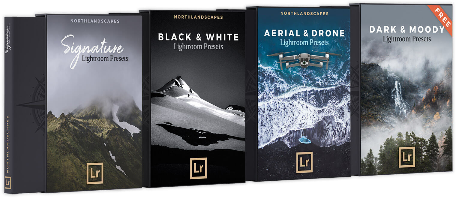 Lightroom Presets for Landscape, Aerial and Travel Photography by Northlandscapes