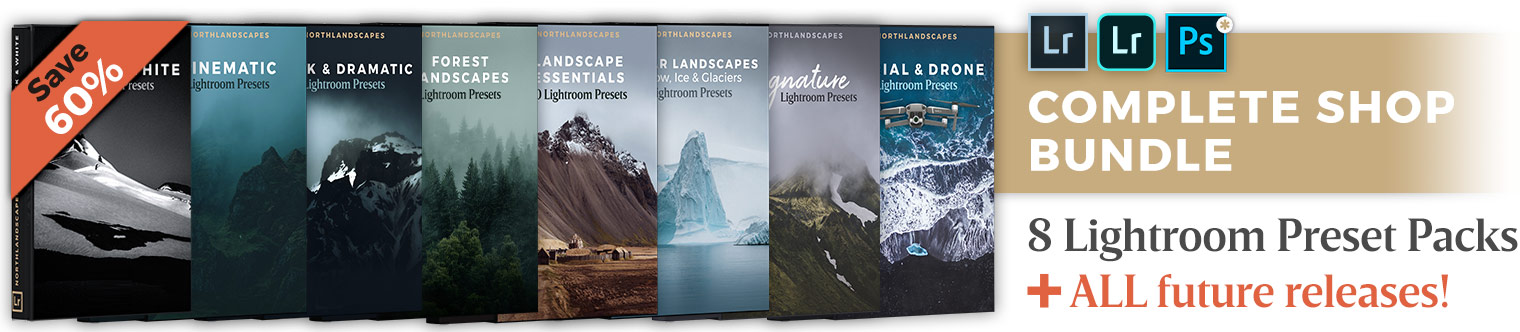 Lightroom Presets Bundle for Landscape Photography