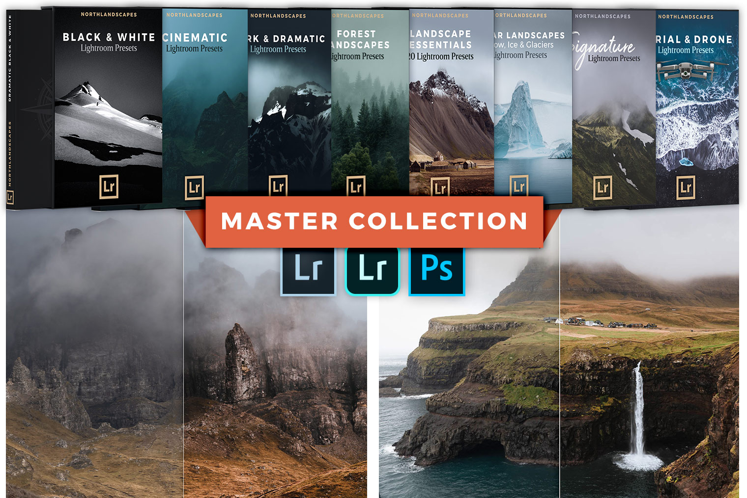 Complete Shop Bundle: All Lightroom Preset Packs