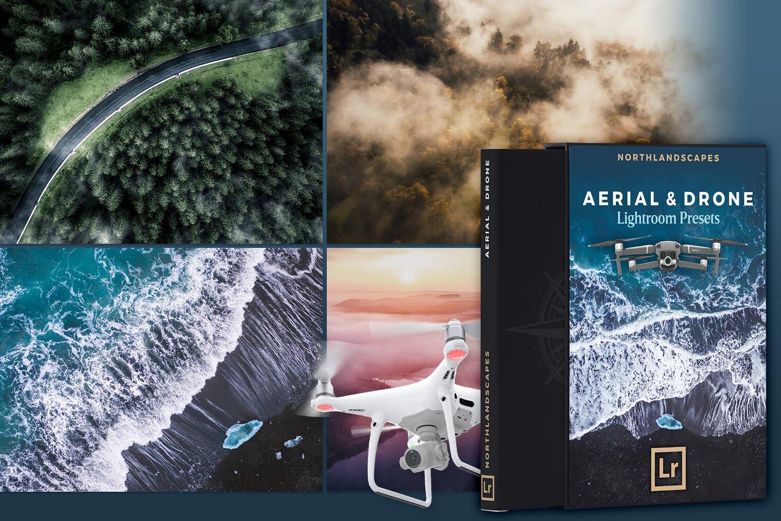 Aerial & Drone Lightroom Presets