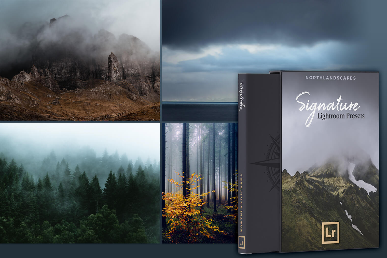 Moody Landscapes (Signature Lightroom Presets)
