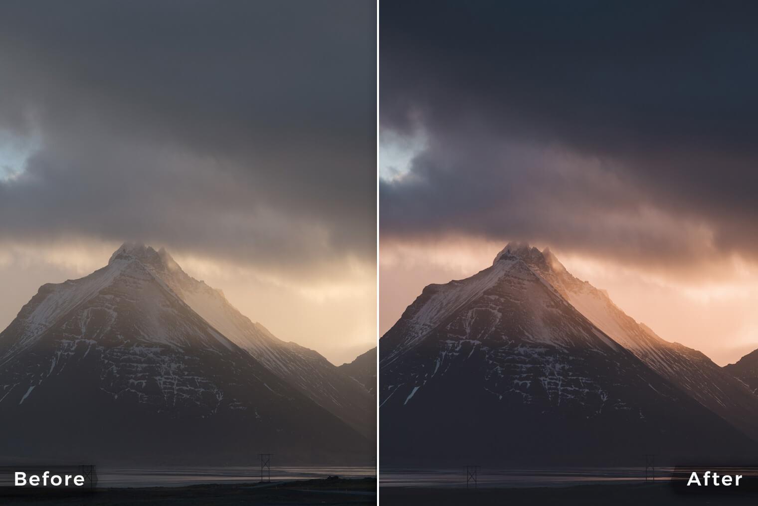 Moody Landscapes Lightroom Presets For Desktop Mobile Dng