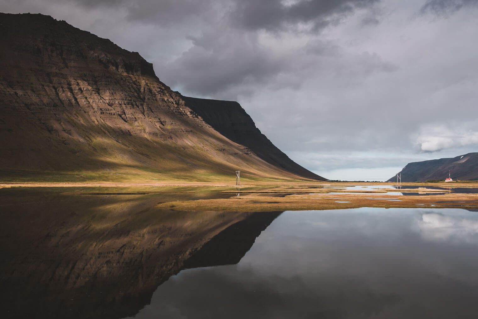 The Westfjords of Iceland in Autumn Colors