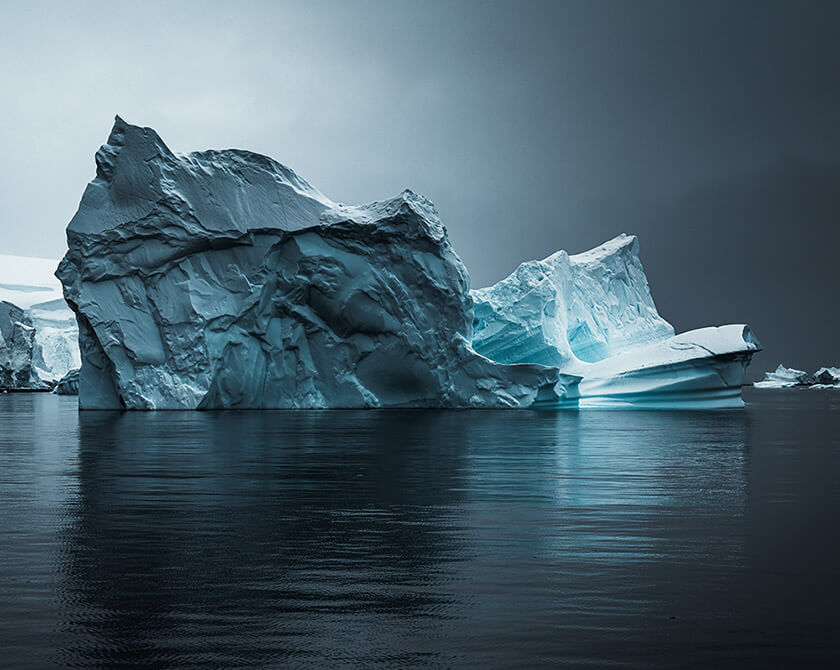 Fine Art Landscape Photography of Antarctica by Jan Erik Waider