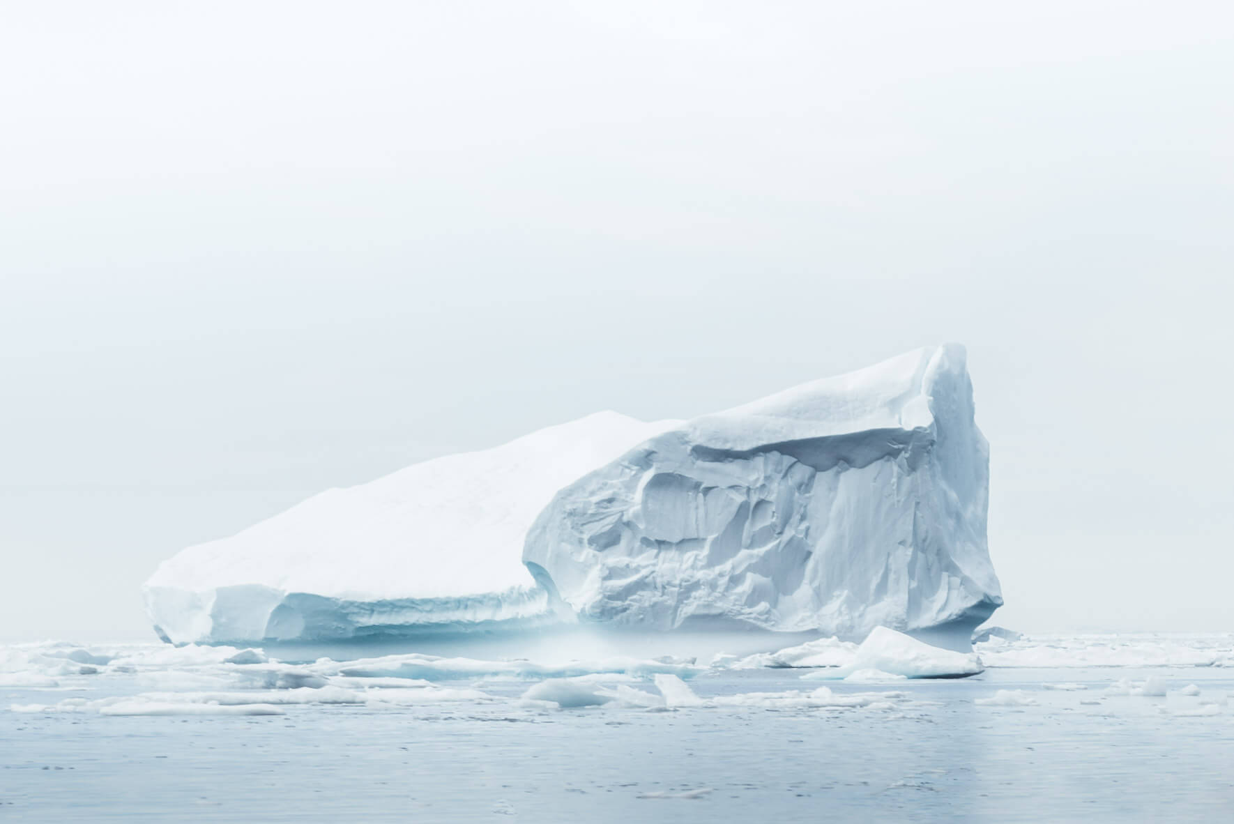 Iceberg in the Arctic waters of Greenland